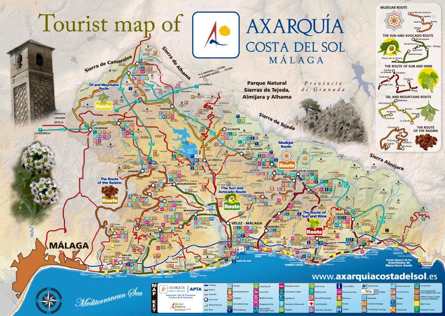 Axarquia Towns Villages East of Malaga Costa del Sol Andalucia