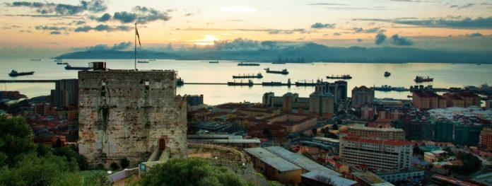 Moorish Castle on Gibraltar