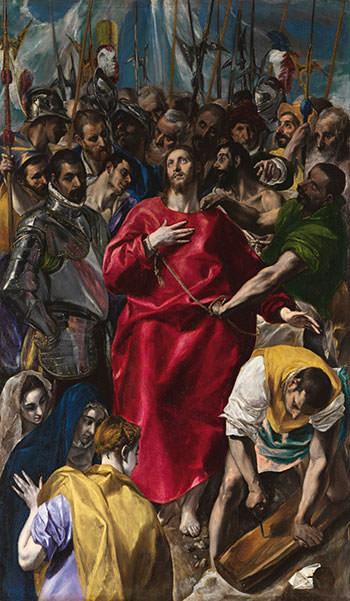 El Expolio (the disrobing of christ} El Greco 1579