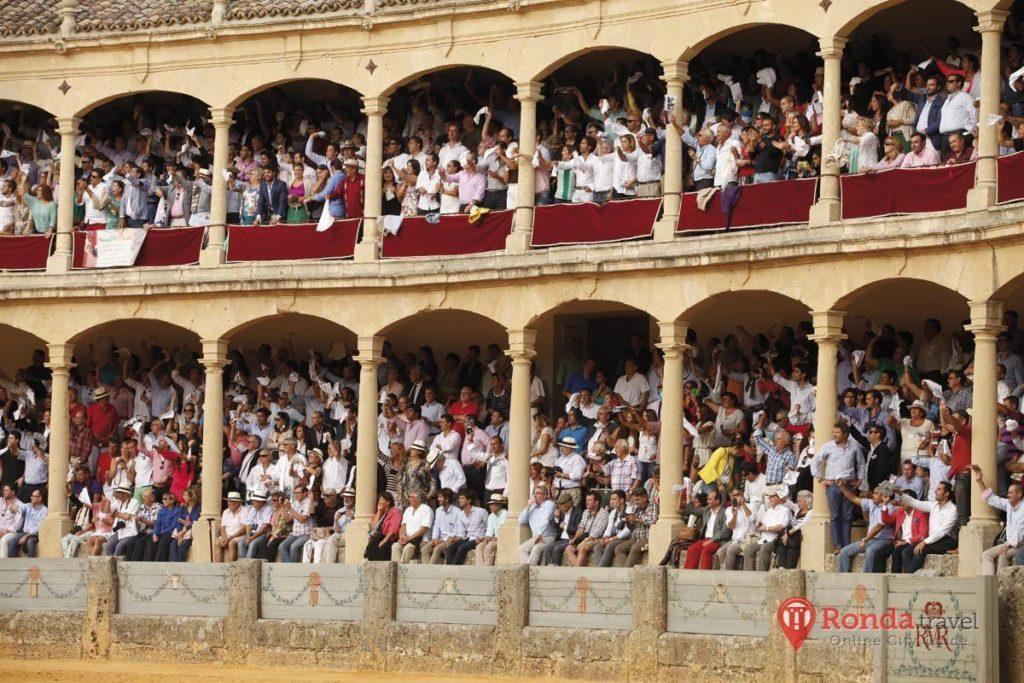 Ronda Bullfight - Crowd