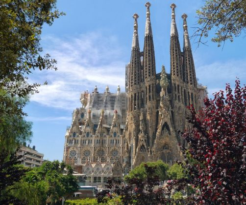 The Sagrada Familia Exterior
