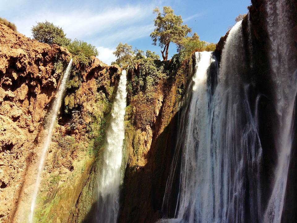 Ouzoud Waterfalls of Morocco