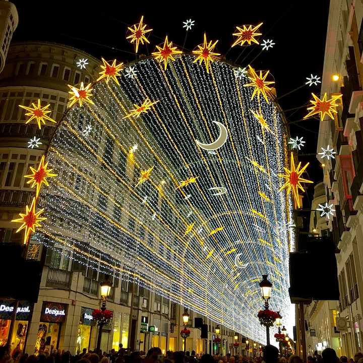 Malagas Wonderful Christmas Lights