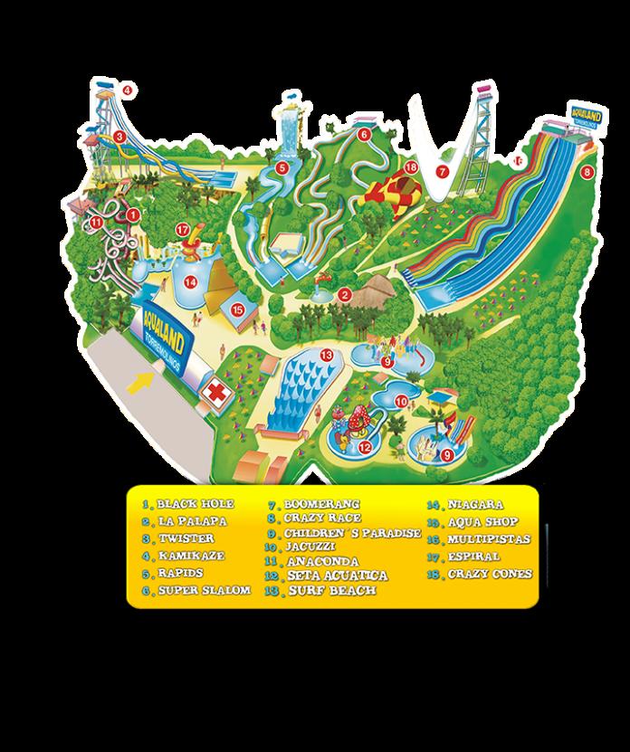 Aqualand map